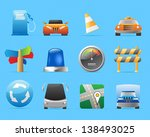 icons for transportation  cars... | Shutterstock .eps vector #138493025