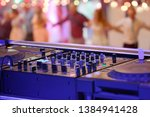 dancing couples during party... | Shutterstock . vector #1384941428