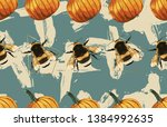 vintage beautiful and trendy... | Shutterstock . vector #1384992635