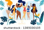 you are beautiful horizontal... | Shutterstock .eps vector #1385030105