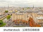 paris  france   september 28 ... | Shutterstock . vector #1385038808
