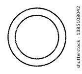 grunge stamp draft mockup of... | Shutterstock .eps vector #1385108042