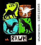 illustration for t shirts with... | Shutterstock .eps vector #1385133545