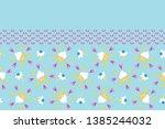bright summer daisy flower...   Shutterstock .eps vector #1385244032