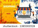 online shopping website design. ...