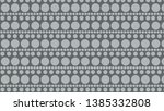 grey circle pattern background... | Shutterstock .eps vector #1385332808