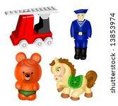 Vector Toys. Set 3