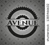 avenue dark emblem. vector...   Shutterstock .eps vector #1385466632