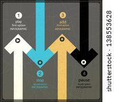 four infographics options banner | Shutterstock .eps vector #138553628
