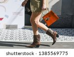 milan  italy   february 24 ...   Shutterstock . vector #1385569775