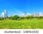 yokohama city buildings at the... | Shutterstock . vector #138561032