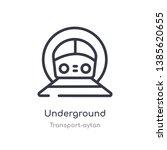 underground outline icon....   Shutterstock .eps vector #1385620655