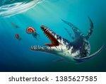 Kronosaurus Was A Marine...