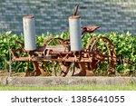 An Antique Two Row Corn Planter ...
