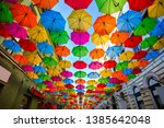 Colorful Umbrellas Hanging Out...