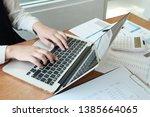 business people meeting design...   Shutterstock . vector #1385664065