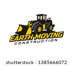 loader logo template vector.... | Shutterstock .eps vector #1385666072