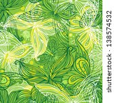 seamless pattern with... | Shutterstock .eps vector #138574532