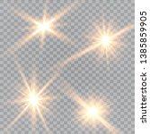 glow light effect. vector...   Shutterstock .eps vector #1385859905