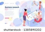 flat design isometric vector...   Shutterstock .eps vector #1385890202