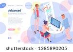 flat design isometric vector...   Shutterstock .eps vector #1385890205