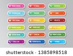 web buttons   huge vector set.... | Shutterstock .eps vector #1385898518