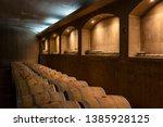 a wine bar in casablanca chile | Shutterstock . vector #1385928125