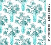 watercolor seamless pattern... | Shutterstock . vector #1385958692