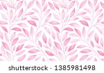 seamless pattern with stylized...   Shutterstock . vector #1385981498