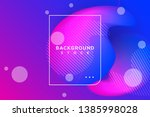 abstract bright background with ... | Shutterstock .eps vector #1385998028