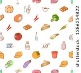 food images. background for...   Shutterstock .eps vector #1386254822