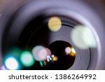 The aperture of camera lens