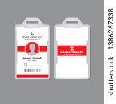 vector illustration corporate... | Shutterstock .eps vector #1386267338