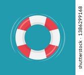 safety torus vector. symbol.... | Shutterstock .eps vector #1386299168
