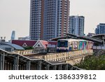 bts mo chit sky train station... | Shutterstock . vector #1386339812
