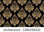 floral pattern. vintage...   Shutterstock .eps vector #1386358232