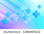 abstract healthy and medical... | Shutterstock .eps vector #1386405632