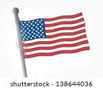american flag   Shutterstock . vector #138644036