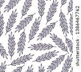 floral seamless pattern.... | Shutterstock .eps vector #1386467762