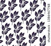 floral seamless pattern.... | Shutterstock .eps vector #1386467768