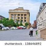 montreal  ca  june 09  downtown ... | Shutterstock . vector #138646892