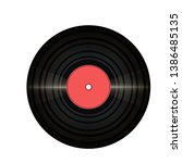 vinil record with glitter and...   Shutterstock .eps vector #1386485135