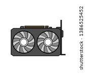 vector image of a black...   Shutterstock .eps vector #1386525452