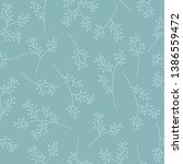 seamless pattern with simple... | Shutterstock .eps vector #1386559472