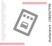 vector icon ticket 10 eps ....   Shutterstock .eps vector #1386567998