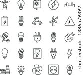 thin line vector icon set  ... | Shutterstock .eps vector #1386579392