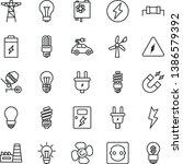 thin line vector icon set  ... | Shutterstock .eps vector #1386579392