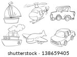 illustration of the silhouettes ...   Shutterstock .eps vector #138659405