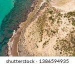Coastline Of The Mediterranean...