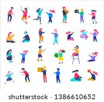 illustration of children...   Shutterstock .eps vector #1386610652